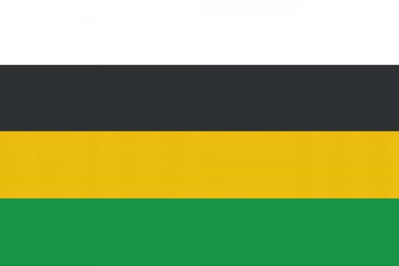 Flagge Grün Gelb Schwarz