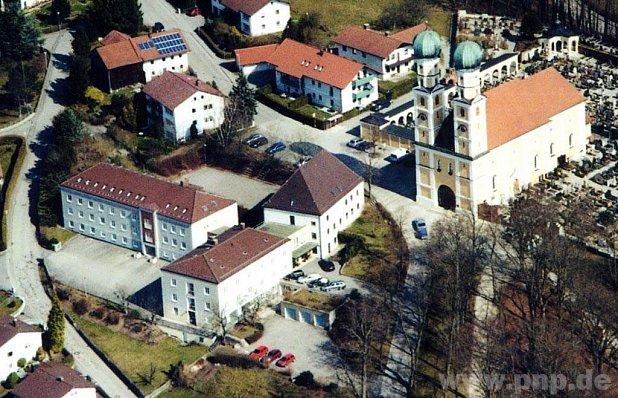 Kloster.Luftaufnahme